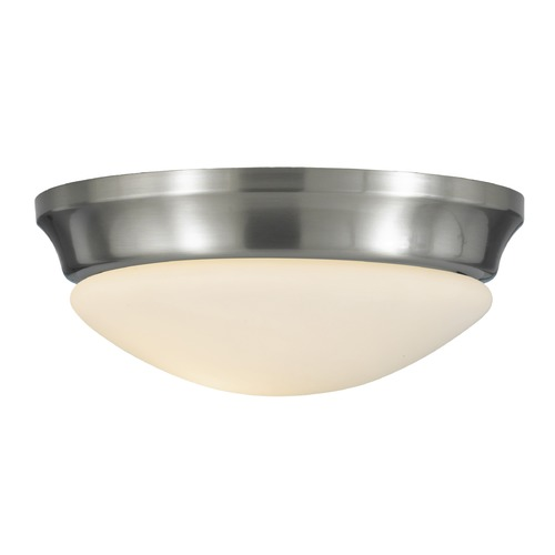 Feiss Lighting Feiss Lighting Barrington Brushed Steel LED Flushmount Light FM271BS-LED