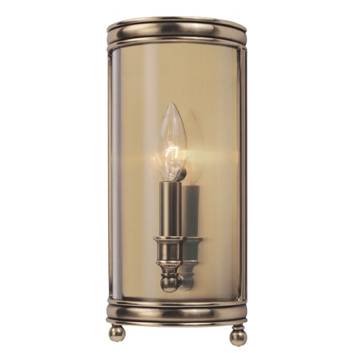 Hudson Valley Lighting Hudson Valley Lighting Larchmont Aged Brass Sconce 7801-AGB
