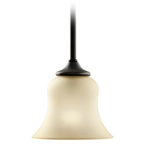 Kichler Lighting Kichler Mini-Pendant Light with Beige / Cream Shade 3584OZ