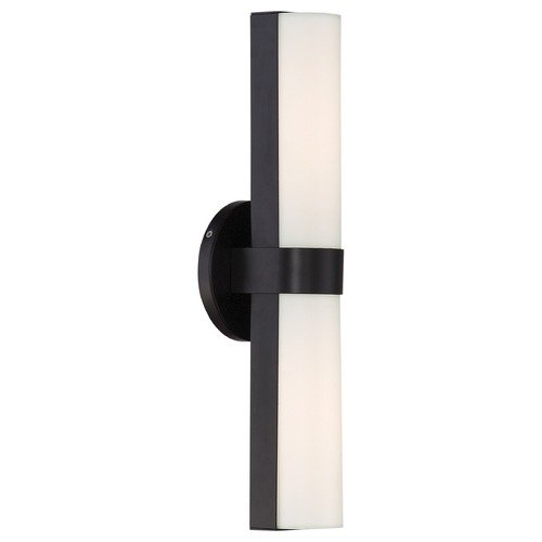 Nuvo Lighting Bond Aged Bronze LED Bathroom Light - Vertical Mounting Only 62/742