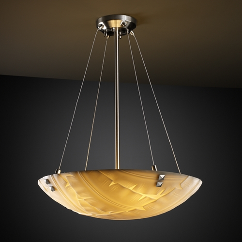 Justice Design Group Justice Design Group Porcelina Collection Pendant Light PNA-9661-35-BANL-NCKL-F3