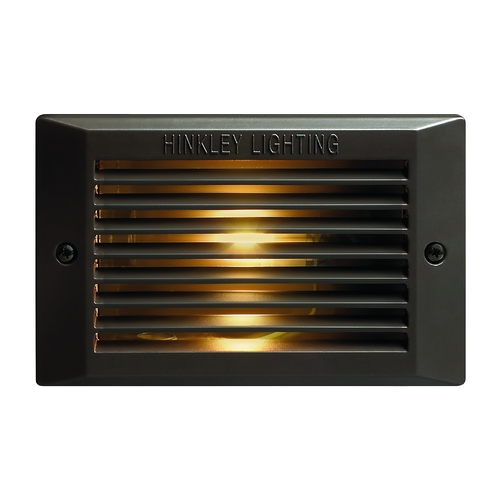 Hinkley Lighting Recessed Step Light in Bronze Finish 58009BZ