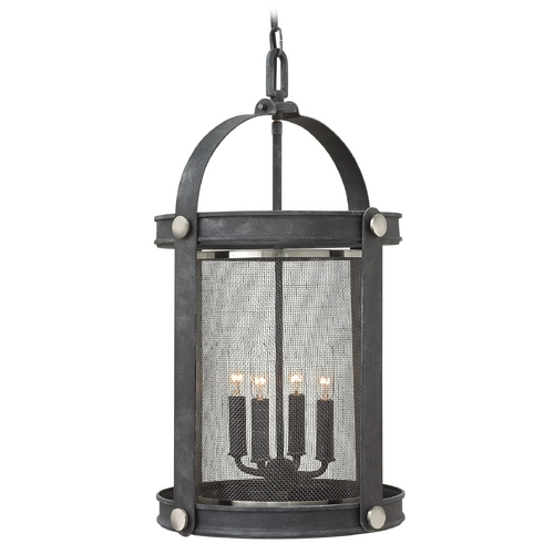 Hinkley Lighting Hinkley Lighting Holden Aged Zinc Pendant Light 3942DZ