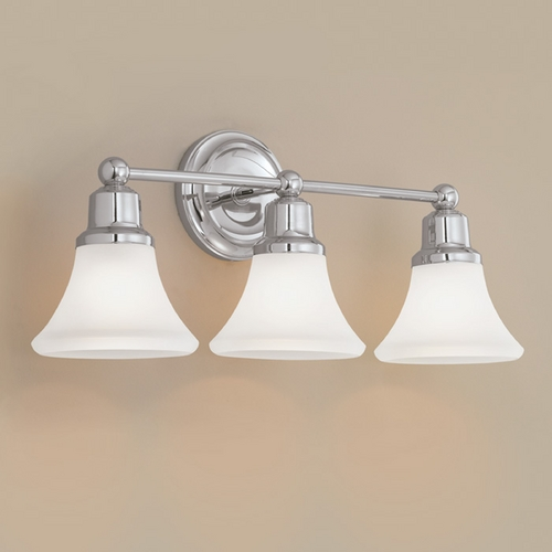 Norwell Lighting Norwell Lighting Elizabeth Polished Nickel Bathroom Light 8953-PN-FL