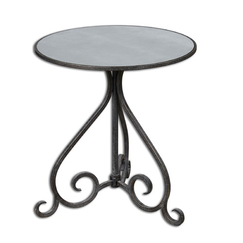 Uttermost Lighting Uttermost Poloa Mirrored Accent Table 24380