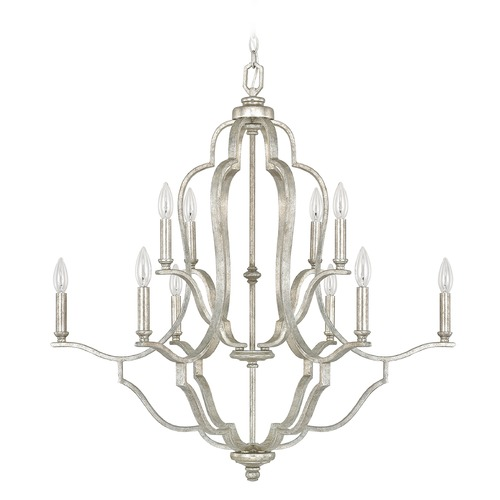 Capital Lighting Capital Lighting Blair Antique Silver Chandelier 4940AS-000
