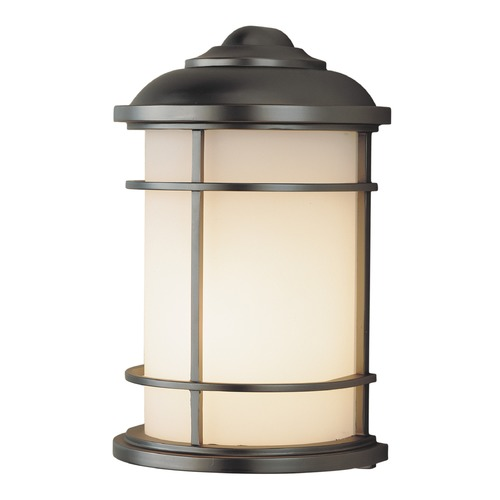 Feiss Lighting Feiss Lighting Lighthouse Burnished Bronze LED Outdoor Wall Light OL2203BB-LED