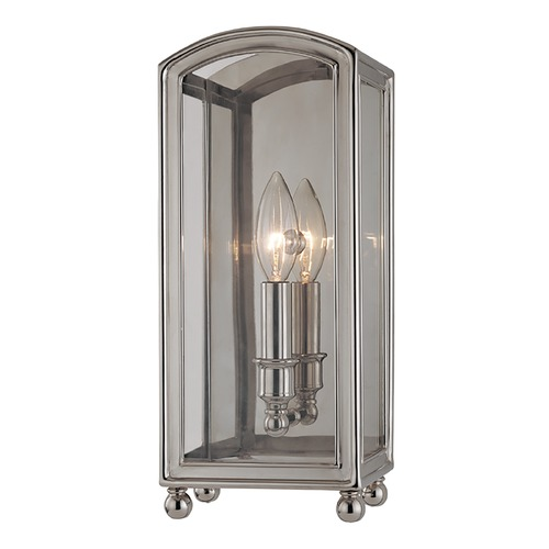 Hudson Valley Lighting Hudson Valley Lighting Larchmont Polished Nickel Sconce 7801-PN