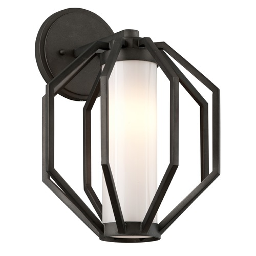 Troy Lighting Troy Lighting Boundary Textured Graphite LED Outdoor Wall Light BL4982