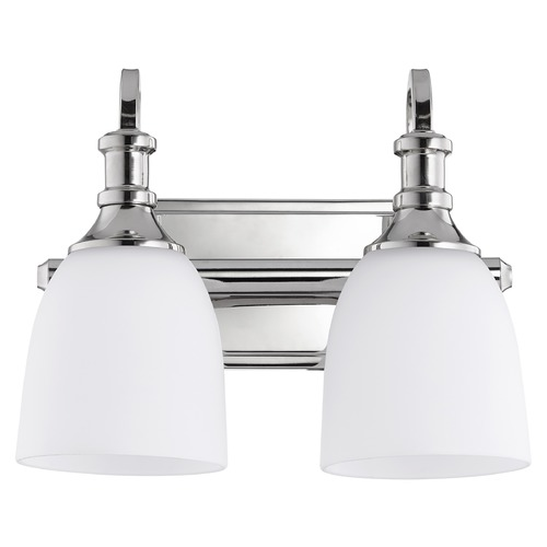 Quorum Lighting Quorum Lighting Richmond Polished Nickel Bathroom Light 5011-2-62