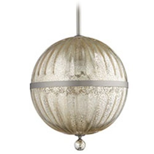 Quorum Lighting Quorum Lighting Satin Nickel Pendant Light 683-14-65