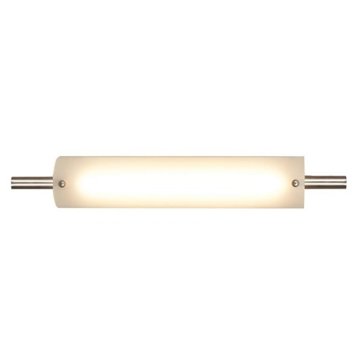 Access Lighting Vail Brushed Steel LED Bathroom Light - Vertical or Horizontal Mounting 31006LEDD-BS/OPL