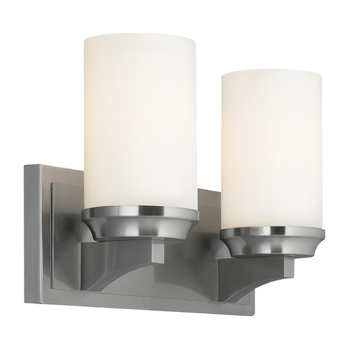Feiss Lighting Feiss Lighting Amalia Brushed Steel Bathroom Light VS46002-BS