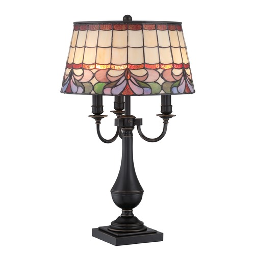 Lite Source Lighting Lite Source Lighting Thasos Dark Bronze Table Lamp with Empire Shade C41338