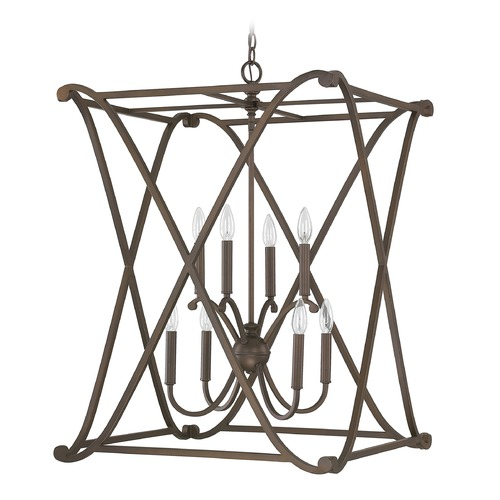 Capital Lighting Capital Lighting Alexander Burnished Bronze Pendant Light 9693BB