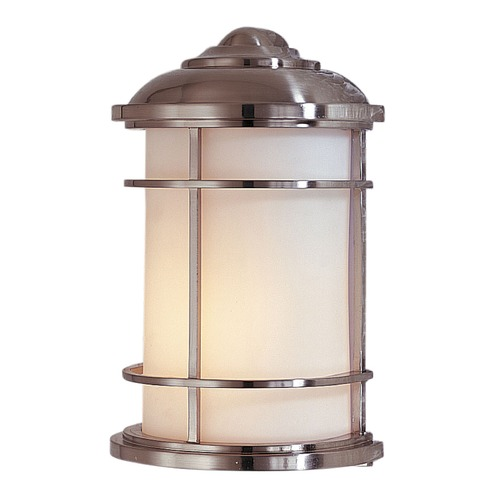Feiss Lighting Feiss Lighting Lighthouse Brushed Steel LED Outdoor Wall Light OL2203BS-LED