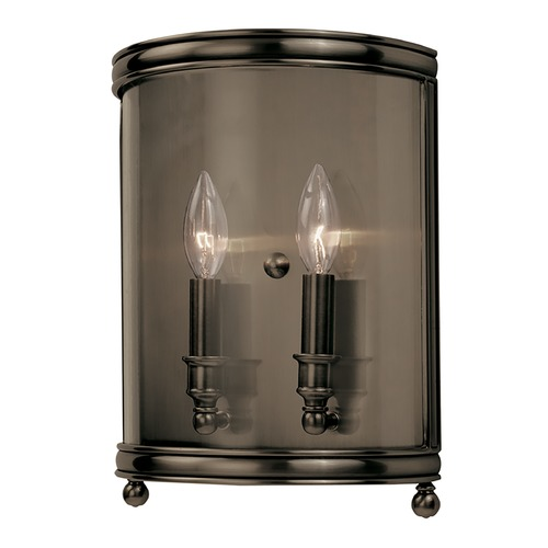 Hudson Valley Lighting Hudson Valley Lighting Larchmont Distressed Bronze Sconce 7802-DB