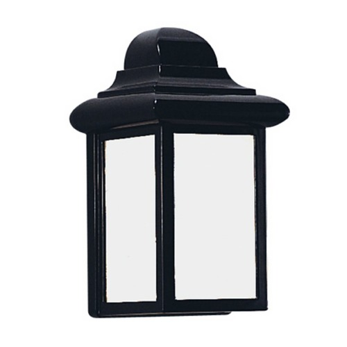 Sea Gull Lighting Sea Gull Mullberry Hill Black LED Outdoor Wall Light 898891S-12