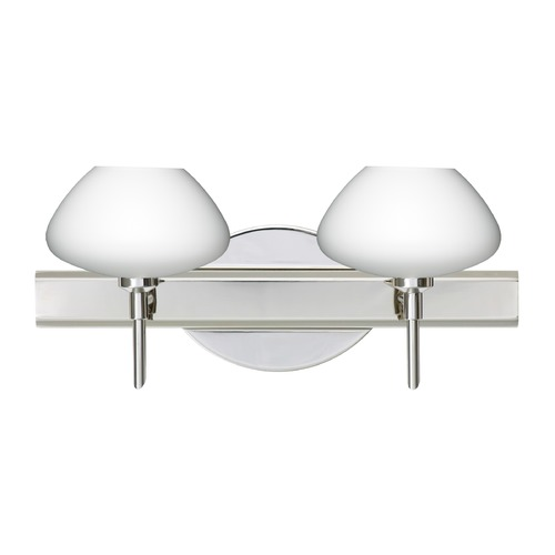 Besa Lighting Besa Lighting Peri Chrome LED Bathroom Light 2SW-541007-LED-CR