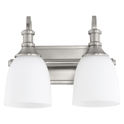 Quorum Lighting Quorum Lighting Richmond Satin Nickel Bathroom Light 5011-2-65
