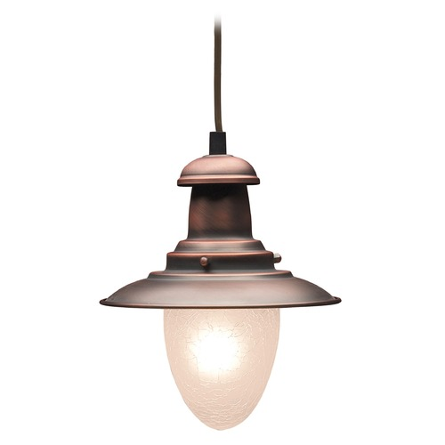 Elk Lighting Mini-Pendant Light with White Glass 010-AC