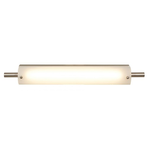 Access Lighting Vail Brushed Steel LED Bathroom Light - Vertical or Horizontal Mounting 31007LEDD-BS/OPL
