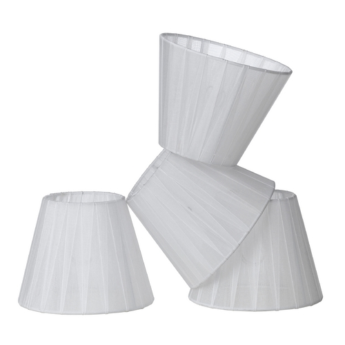 AF Lighting White Empire Lamp Shade with Assembly 8528-4S