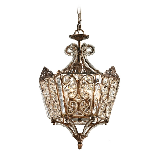 Elk Lighting Pendant Light in Spanish Bronze Finish 11720/6