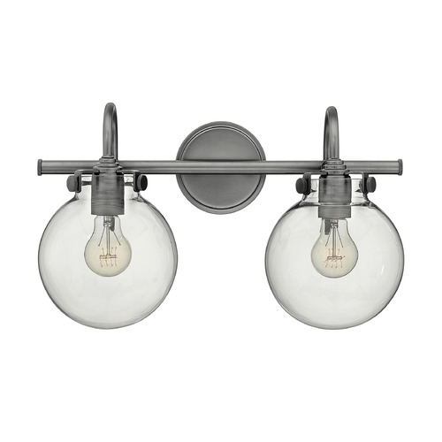 Hinkley Lighting Hinkley Lighting Congress Antique Nickel Bathroom Light 50024AN