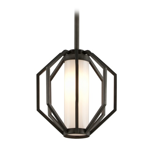 Troy Lighting Troy Lighting Boundary Textured Graphite LED Outdoor Hanging Light FL4987