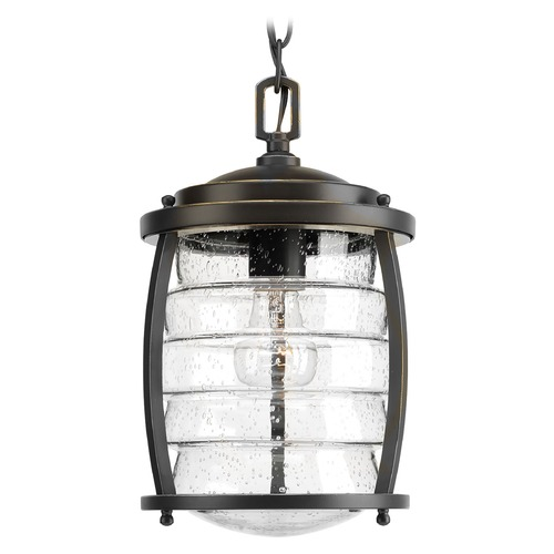 Progress Lighting Progress Lighting Signal Bay Oil Rubbed Bronze Outdoor Hanging Light P5521-108