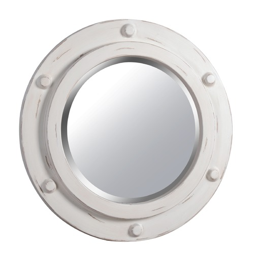 Kenroy Home Lighting Portside Round 24-Inch Decorative Mirror by Kenroy Home 60050DW
