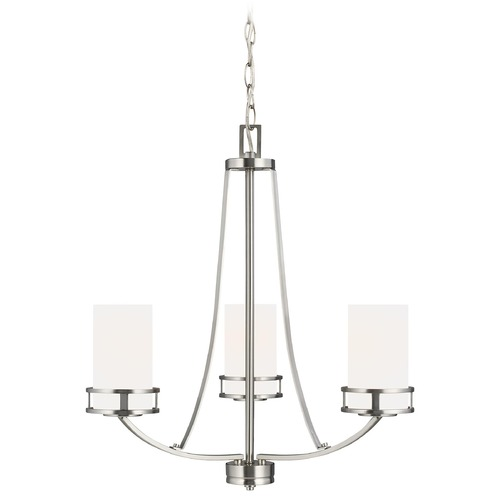 Sea Gull Lighting Sea Gull Lighting Robie Brushed Nickel Chandelier 3121603-962