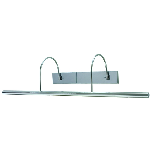 House of Troy Lighting Modern Picture Light in Chrome Finish DXL36-62
