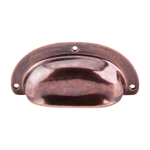Top Knobs Hardware Cabinet Pull in Old English Copper Finish M213