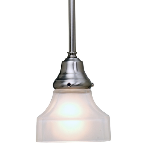 Mini Pendant With Square Frosted Glass 401 09 G9415