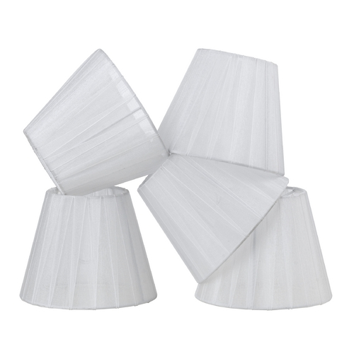 AF Lighting White Empire Lamp Shade with Assembly 8529-5S