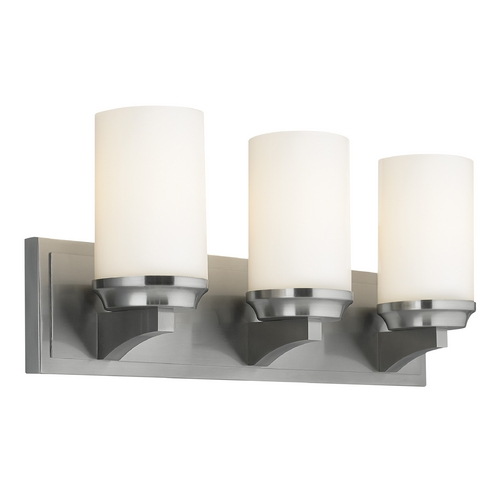 Feiss Lighting Feiss Lighting Amalia Brushed Steel Bathroom Light VS46003-BS