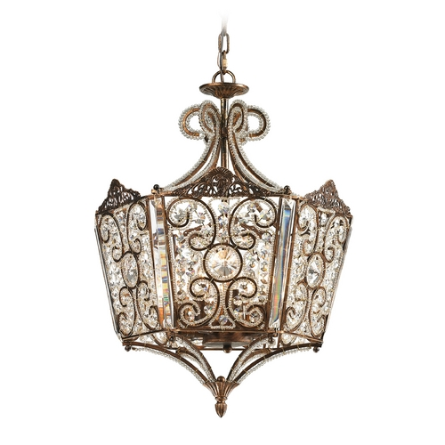 Elk Lighting Pendant Light in Spanish Bronze Finish 11721/8