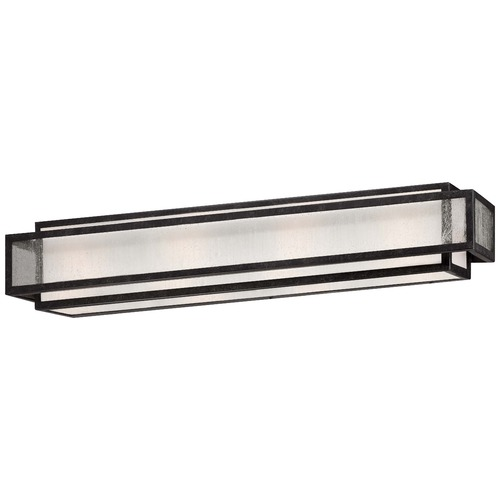 Minka Lavery Seeded Glass Bathroom Light Bronze Minka Lavery 4874-283