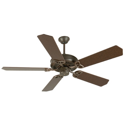 Craftmade Lighting Craftmade Lighting Cxl Aged Bronze Textured Ceiling Fan Without Light K10931