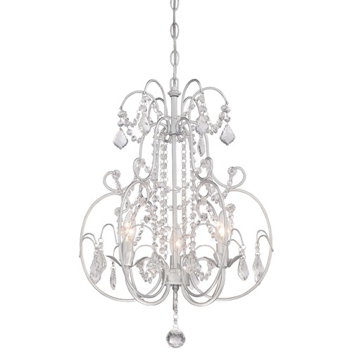 Minka Lighting Minka Mini Chandeliers Vintage Silver Mini-Chandelier 3153-599