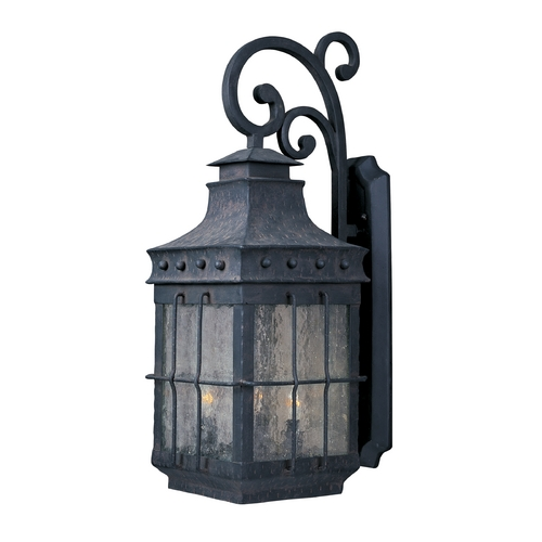 Maxim Lighting Maxim Lighting Nantucket Country Forge Outdoor Wall Light 30085CDCF