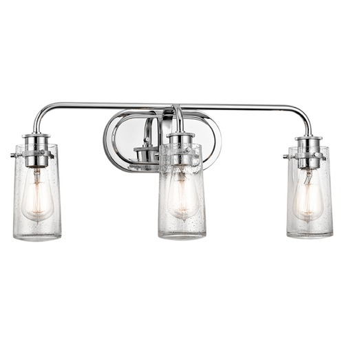 Kichler Lighting Kichler Lighting Braelyn Chrome Bathroom Light 45459CH