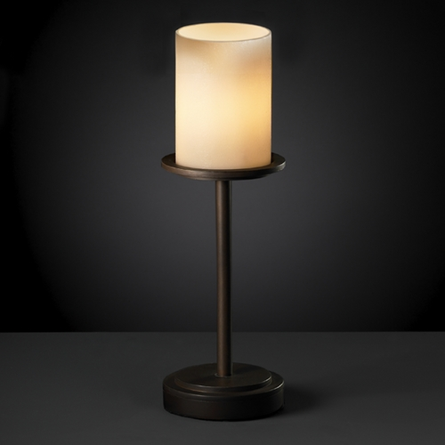 Justice Design Group Justice Design Group Candlearia Collection Table Lamp CNDL-8799-10-CREM-DBRZ