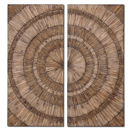 Uttermost Lighting Uttermost Lanciano Wood Wall Art 07636