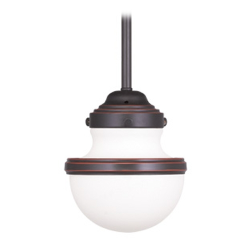 Livex Lighting Livex Lighting Oldwick Olde Bronze Mini-Pendant Light 5719-67