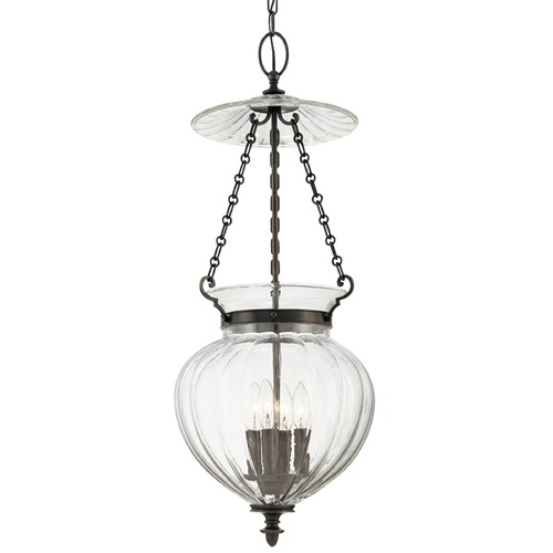 Hudson Valley Lighting Hudson Valley Lighting Gardner Aged Brass Pendant Light with Bowl / Dome Shade 784-AGB