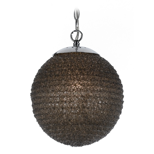AF Lighting Modern Pendant Light with Black Shade 8545-1H