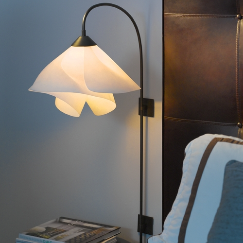 Hubbardton Forge Lighting Hubbardton Forge Lighting Arc Dark Smoke Swing Arm Lamp 289450-07-717